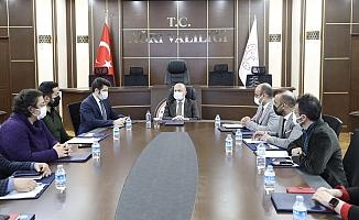 Vali Varol'un Başkanlığında Koronavirüs Değerlendirme Toplantısı