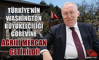 Türkiye'nin Washington Büyükelçiliğine Ağrılı Hasan Murat Mercan getirildi