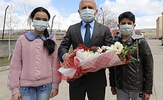 Vali Varol'dan Taşlıçay Yatılı Bölge Ortaokuluna Ziyaret