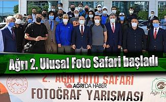 Ağrı 2. Ulusal Foto Safari yarışması başladı