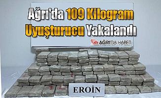 Ağrı'da 109 Kilogram Uyuşturucu Yakalandı