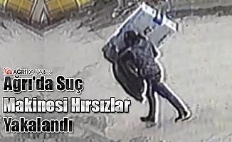 Ağrı'da Suç Makinesi 2 Hırsız Yakalandı