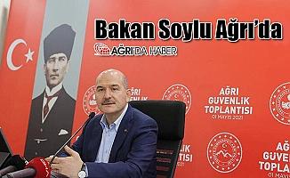 İçişleri BakanıSüleyman Soylu Ağrı'da