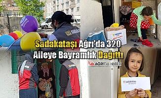 Sadakataşı Derneği Ağrı'da 320 Aileye Bayramlık Dağıttı