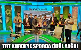 TRT Kurdi'ye Sporda Ödül Yağdı