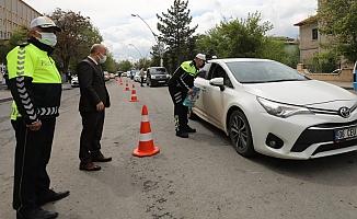 Vali Varol Trafik Denetimlerine Katıldı