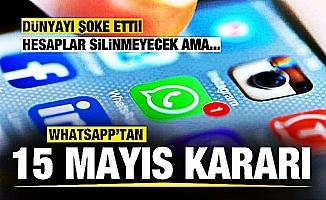 Whatsapp sözleşmesini kabul etmeyenleri uyardı! Hesaplarının işlevselliği azaltılacak