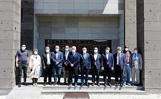 Rektör Karabulut'dan Dekanlara Hayırlı Olsun Ziyareti