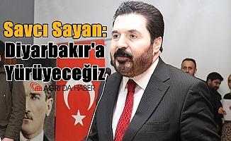 """Savcı Sayan: """"Diyarbakır'a yürüyeceğiz"""""""