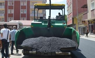 Ağrı'daki yollar asfaltlanıyor