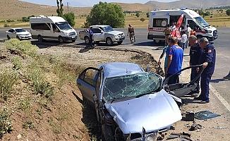 Bitlis'te Korkunç Kaza! 2'si Çocuk 5 kişi yaralandı