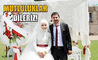 Gazeteci Ramazan ve Demet Çifti Dünya Evine Girdi