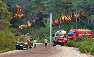 Manavgat'taki orman yangını kontrol altına alınamadı!