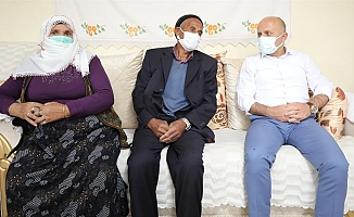 Ağrı Valisi'nden Şehit Ailelerine Ziyaret