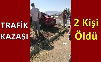 Eleşkirt'te trafik kazası 2 kişi öldü