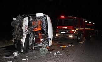 Korkunç kazada: 4 kişi öldü, 5 kişi yaralandı