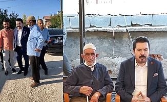Savcı Sayan, Konya'daki taziyeye katıldı