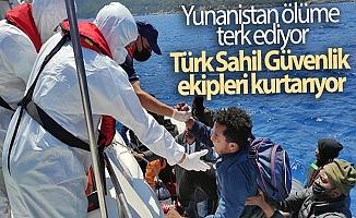 Yunanistan göçmenleri ölüme terk ediyor!