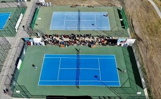 Ağrı Dağı Tenis Turnuvası Son Buldu