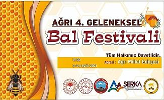Ağrı 4. Geleneksel Bal Festivali Yapılacak