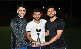 Ağrı'da Ayak Tenisi Turnuvası'nda şampiyon belli oldu