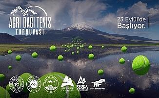 Ağrı'da Ulusal Tenis Turnuvası başlıyor