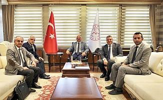 DSİ Erzurum 8. Bölge Müdürü Ağrı'da incelemeler yaptı