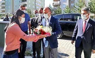 Vali Varol'dan Mehmet Nuri Samancı'ya Ziyaret