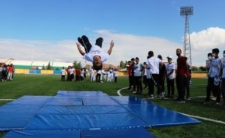 Ağrı'da Avrupa Spor Haftası Kutlandı