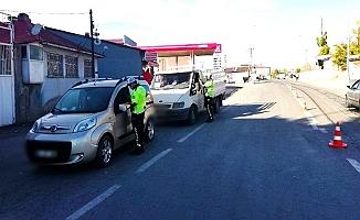 Ağrı'da sürücülere 183 bin 940 TL ceza kesildi