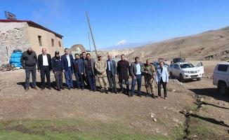 Alper Balcı'dan köy ziyareti