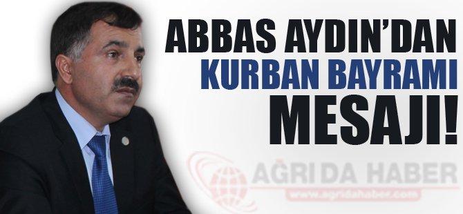 Ak Parti İl Başkanı Aydın'dan Bayram Mesajı