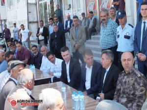 Ağrı Valisi Elban, Hamur'da