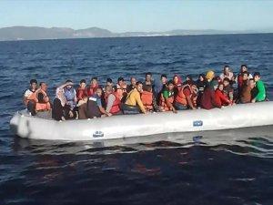 Ege Denizinde 82 Yabancı Uyruklu Yakalandı