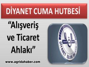 Diyanet (18 Ağustos 2017) Tarihli Cuma Hutbesi