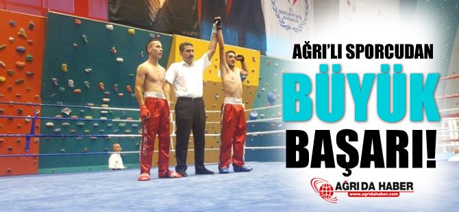 Ağrı'lı Sporcu'dan Büyük Başarı!