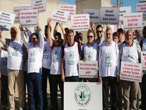 Kocaeli'de Fetö Sanıklarına Protesto
