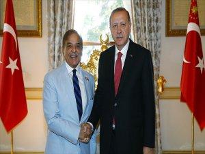 Cumhurbaşkanı Erdoğan, Pakistan Pencap Eyalet Başbakanını Kabul Etti