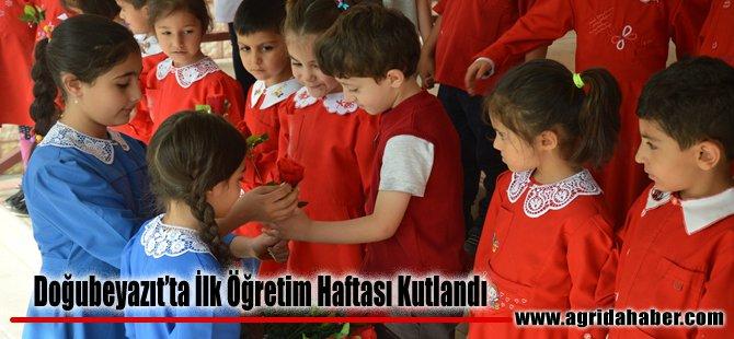 Doğubayazıt'ta 'İlköğretim Haftası' Kutlandı