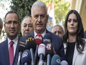 Binali Yıldırım 'Kuzey Irak Yönetimi, Barzani, Bu Sevdadan, Bu İnattan Vazgeçmelidir'