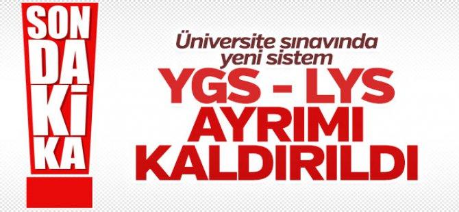 Üniversite Sınavları Değişti! YGS-LYS Ayrımı Kalkıyor