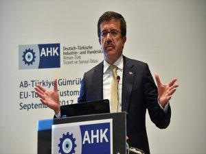 Ekonomi Bakanı Nihat Zeybekci: Türk Şirketleri Ab İçin Büyük Bir Fırsattır