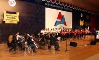 Ağrı İbrahim Çeçen Üniversitesinde Türk Halk Müziği Konseri Verildi