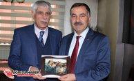 Ağrı Ak Parti İl Başkanı Abbas Aydın AGC'yi ziyaret etti