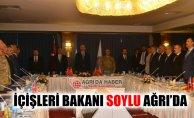 Ağrı'da Yapılan Bölge Güvenlik Toplantısına Süleyman Soylu Katıldı