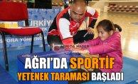 """Ağrı'da """"Sportif Yetenek Taraması ve Spora Yönlendirme Projesi"""" Başladı"""