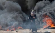 Gazze'de Protestolar'da 40'dan Fazla Ölü