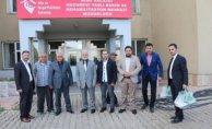 Ağrı Müftüsü Tandoğan TOPÇU'dan Huzurevine Ziyaret