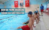 Ağrı'da Yüzme Branşına Yoğun İlgi