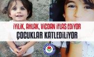Eğitim-Bir-Sen Ağrı Şubesi'nden Minik Leyla ve Eylül için Basın Açıklaması
